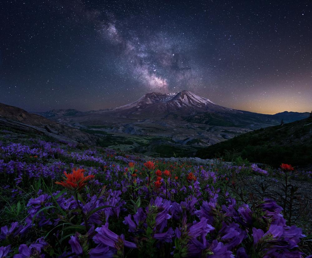 A piece of fine art art photography titled Stars Like Dust by Jordan Ek