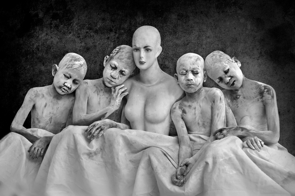A piece of fine art art photography titled Surrogate Mother by Nordin Seruyan