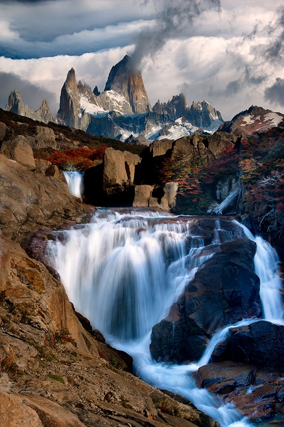A piece of fine art art photography titled Mt Fitz Roy, Patagonia by Doug Solis