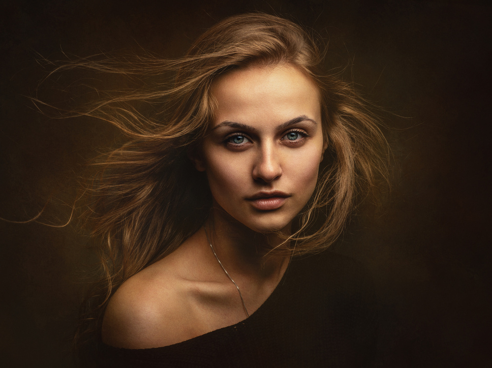 A piece of fine art art photography titled Tanya by Zachar Rise