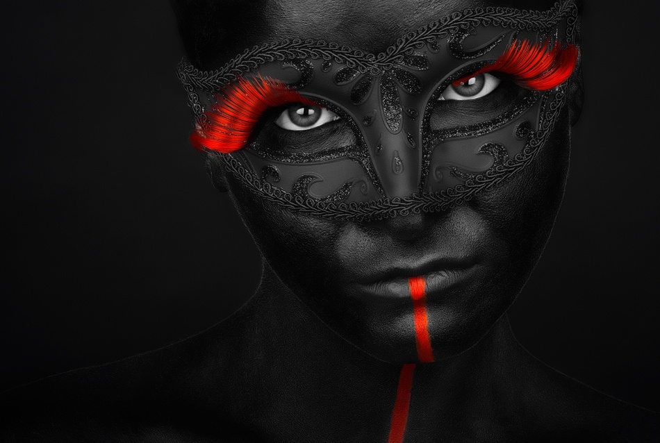 A piece of fine art art photography titled Dark Passion by Petko Petkov
