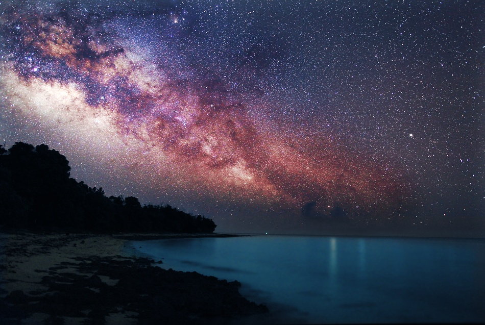 A piece of fine art art photography titled At the Time Southern Cross Sleeps by YASUAKI SEGAWA
