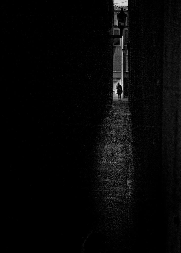 A piece of fine art art photography titled Narrow Daylight 2 by Richard Bland