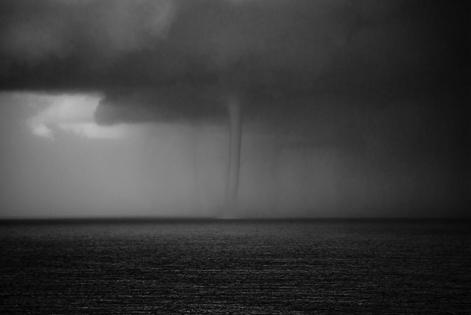 A piece of fine art art photography titled Bleak Sea by Paolo Giudici