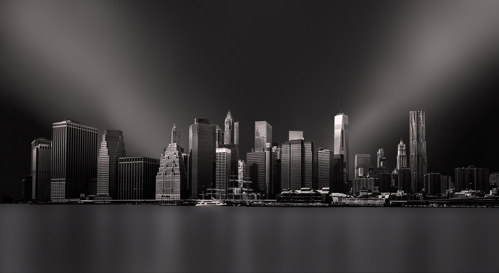 A piece of fine art art photography titled Gotham City by Peter Futo