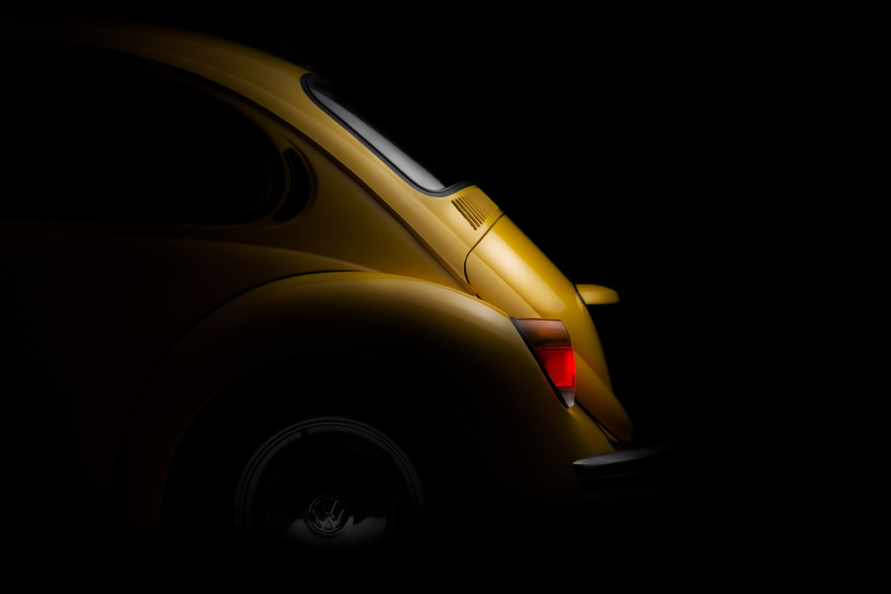A piece of fine art art photography titled Vw by Rico Cavallo