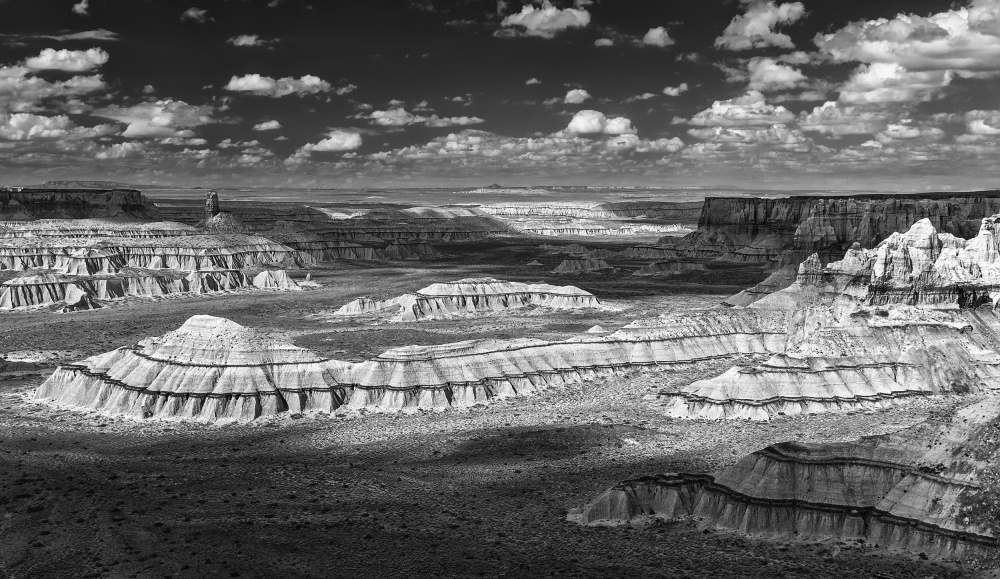 A piece of fine art art photography titled Striped Canyon by Tom Meier
