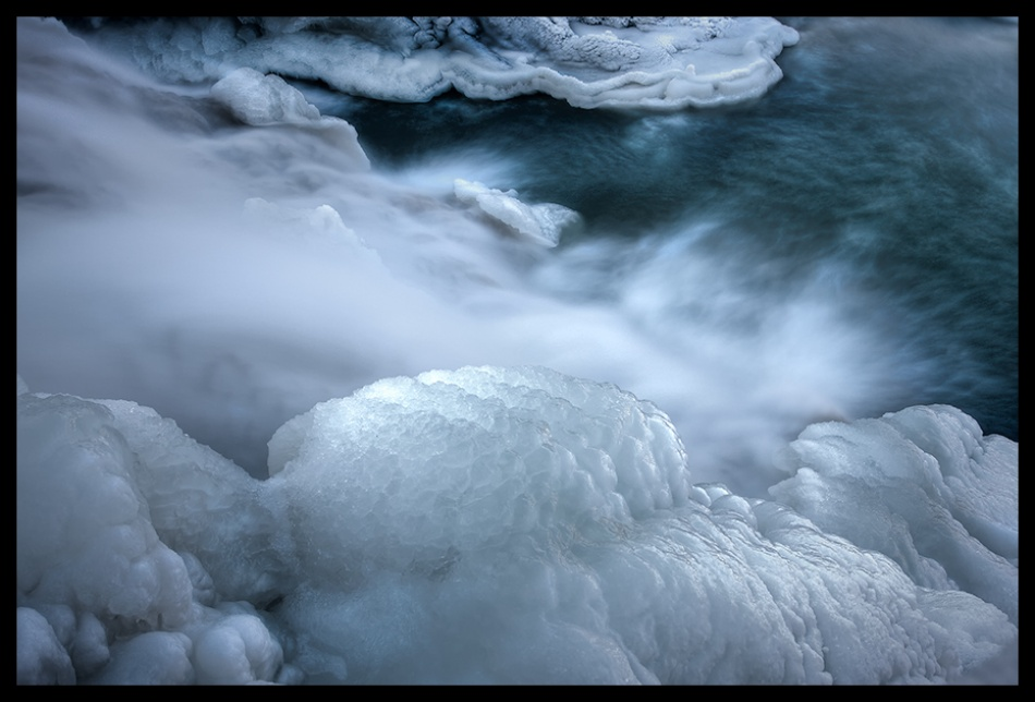 A piece of fine art art photography titled Icy by Repro