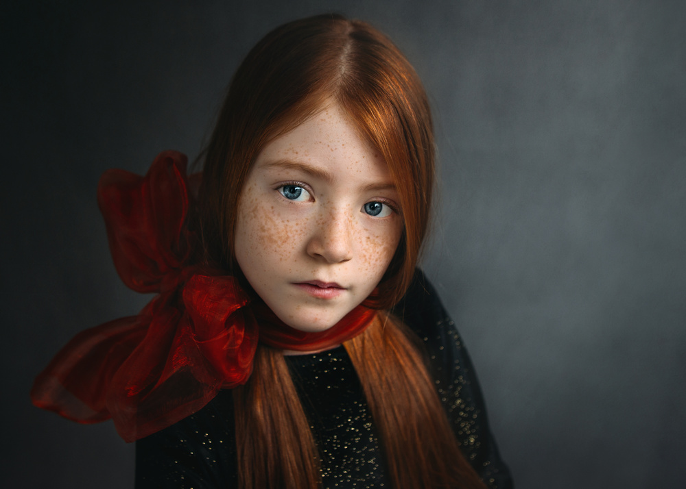 A piece of fine art art photography titled Freya by Greta Do