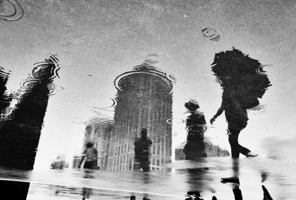A piece of fine art art photography titled Raining Day by Windancer
