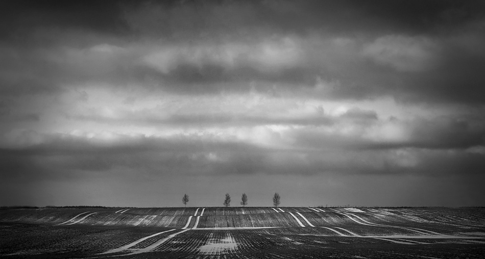 A piece of fine art art photography titled Rolling Hills Rolling In the Sky by Armands Belakovs-Ceimers