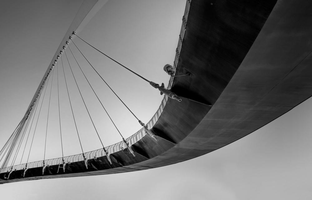 View this piece of fine art photography titled Canal Bridge .. by Yann Loew