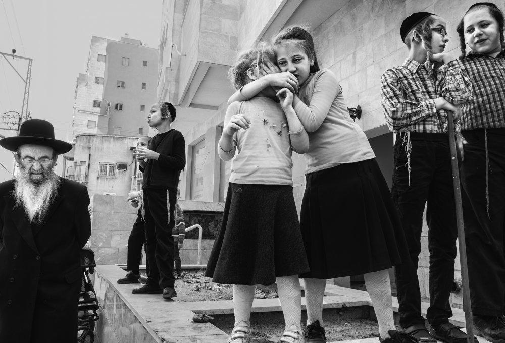 A piece of fine art art photography titled Bnei Brak 201u by Orna Naor