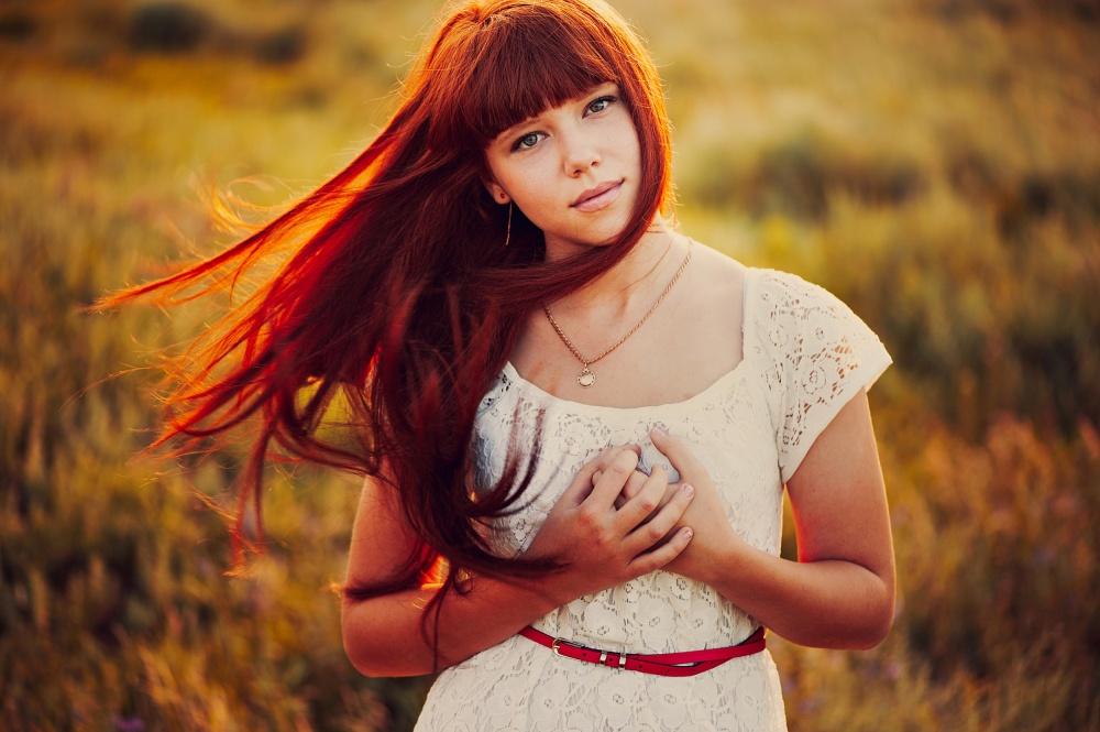 A piece of fine art art photography titled Anastasia by Ann Nevreva