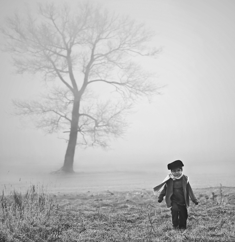 A piece of fine art art photography titled Escape from the Fog by acrux/Kowalkowski Rafal