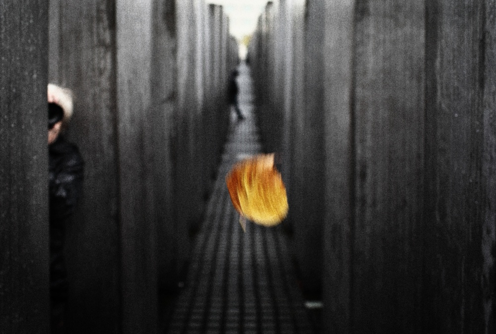 A piece of fine art art photography titled Fire of Hope by Ricky Siegers