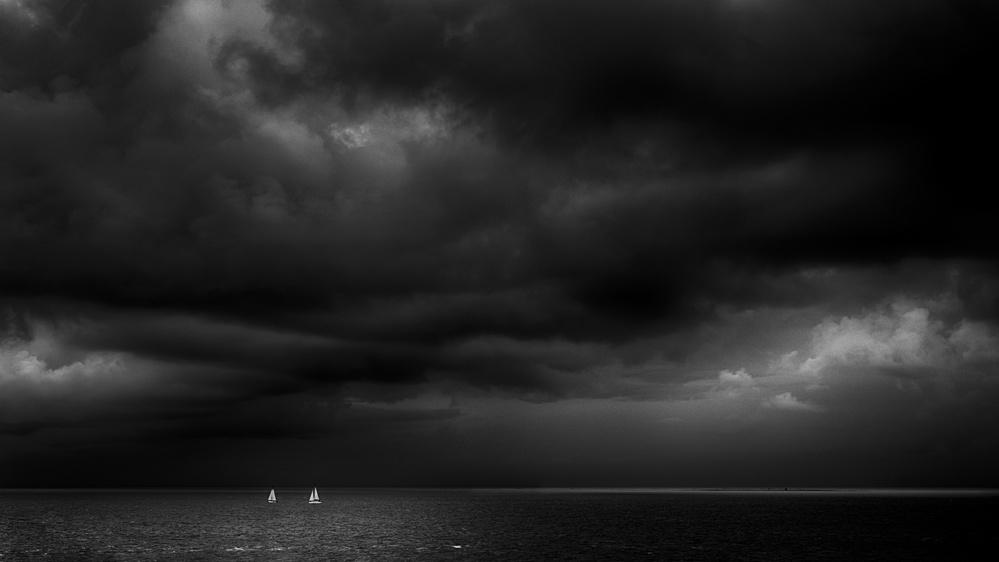 Between light and dark