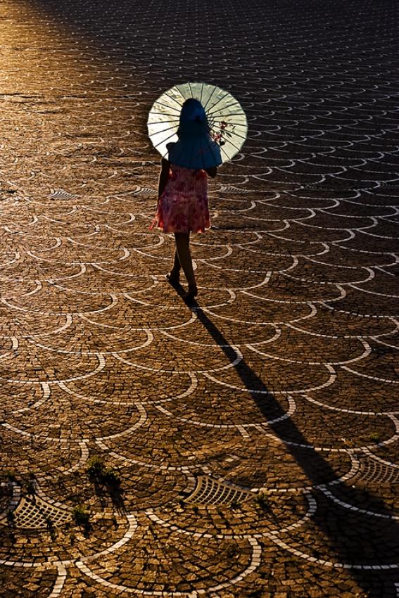 A piece of fine art art photography titled Sunset Boulevard by Matteo Mignani