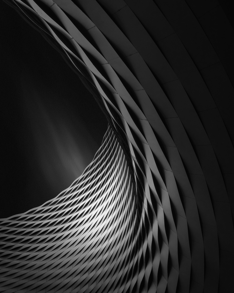 A piece of fine art art photography titled Concave Light I by Oscar Lopez