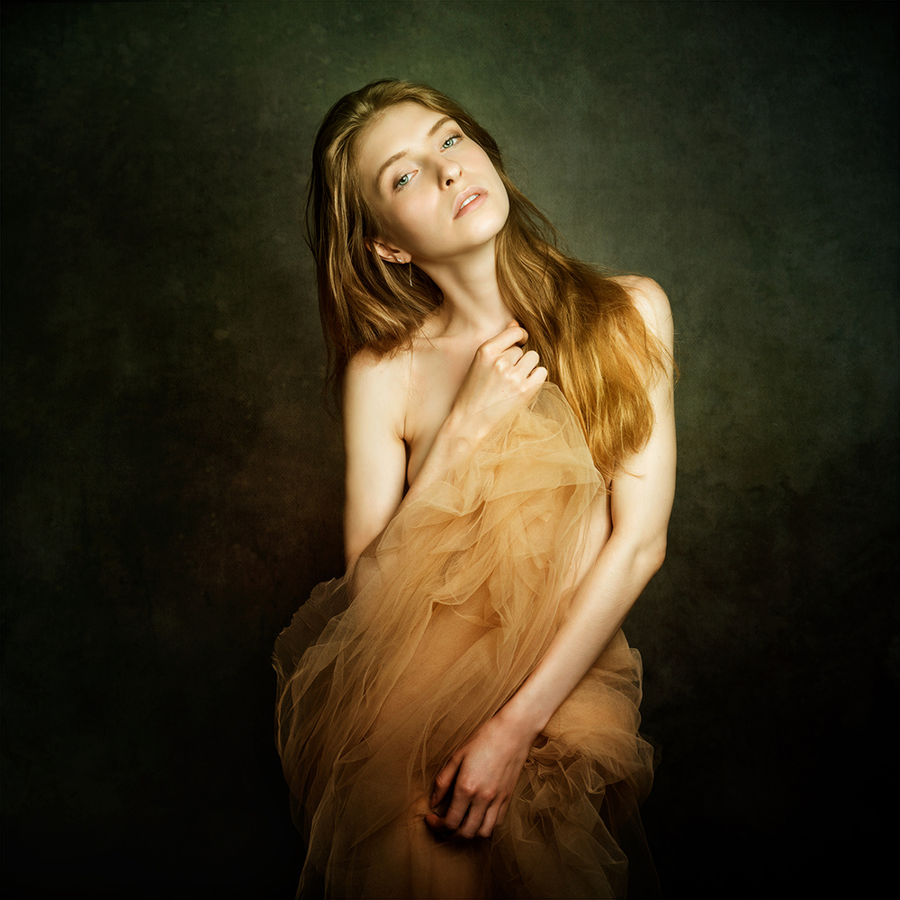 A piece of fine art art photography titled Anna by Mike Darzi