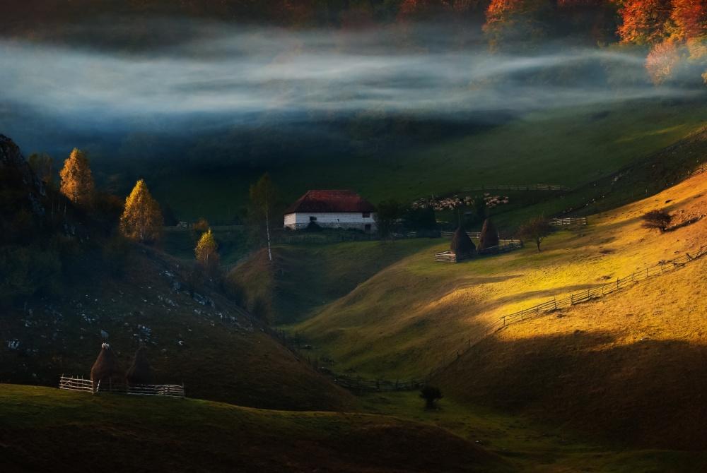 A piece of fine art art photography titled Fundatura Ponorului by Cristian Lee