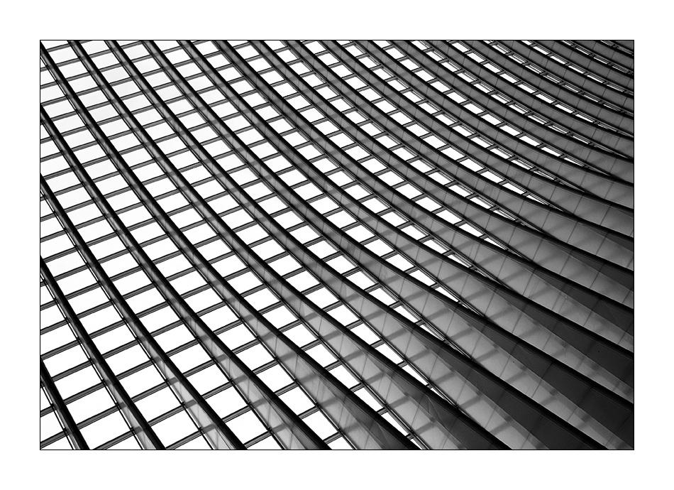 A piece of fine art art photography titled Lines02 by sensorfleck