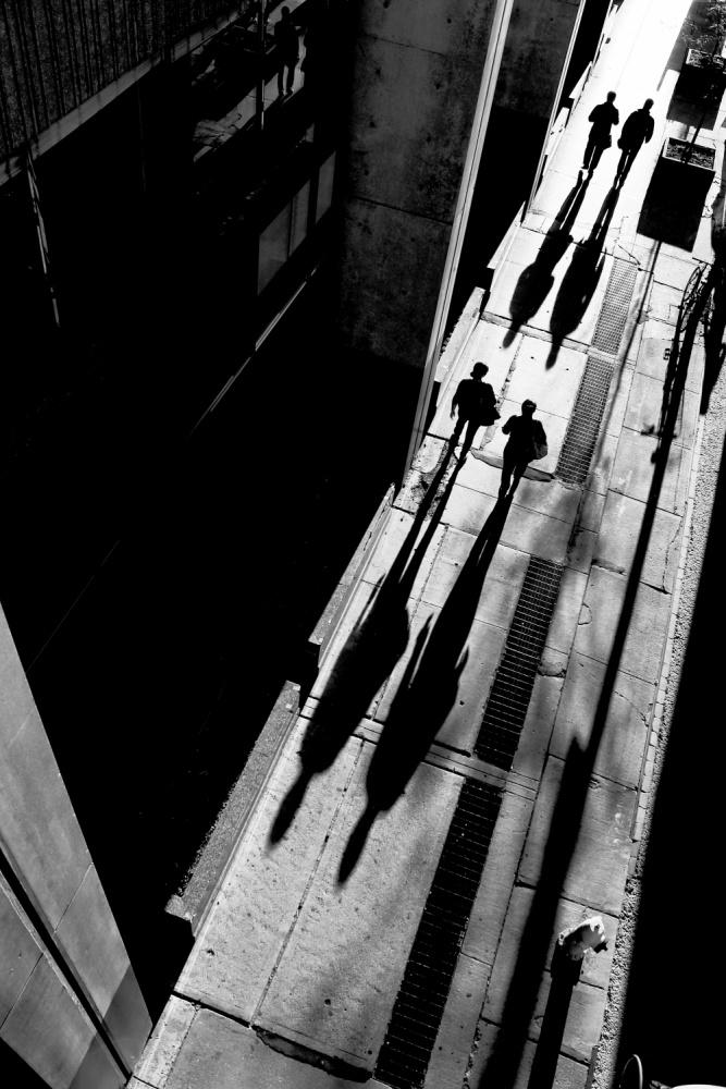 A piece of fine art art photography titled Queen Street by Jian Wang