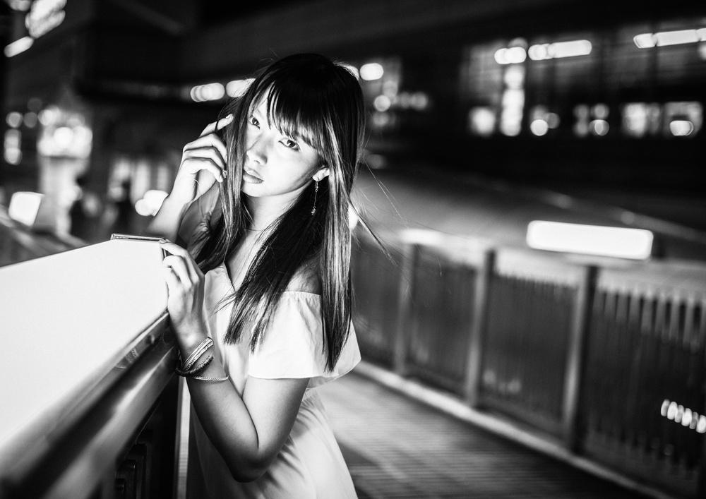 A piece of fine art art photography titled Night by TORU MATSUNAGA