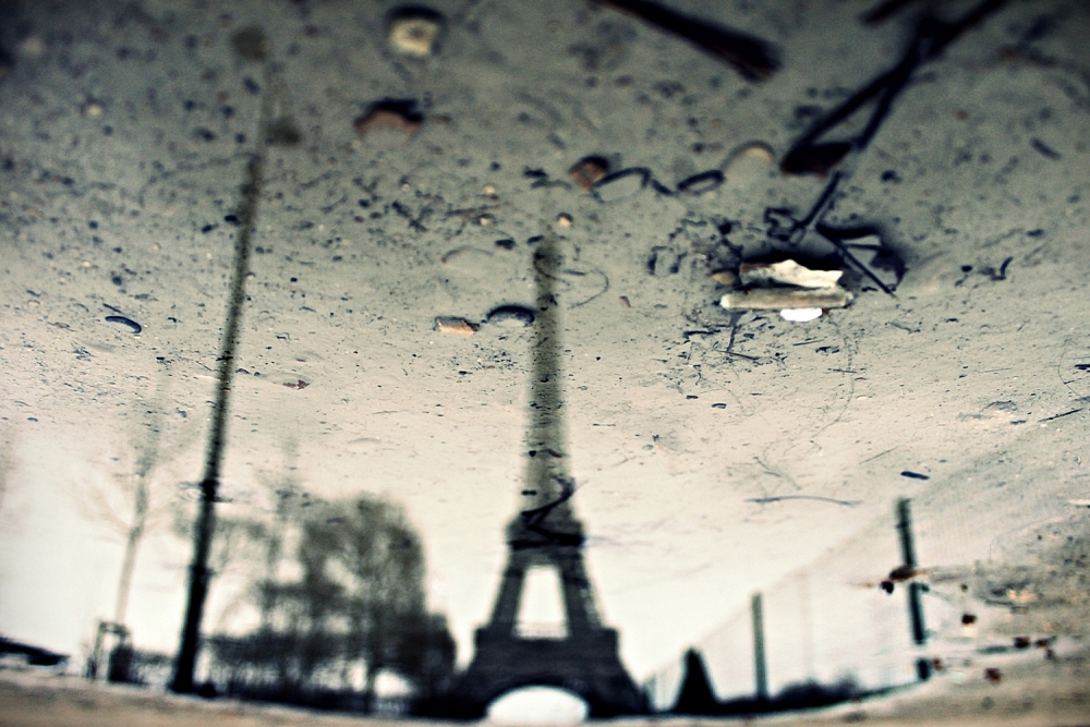 A piece of fine art art photography titled Dirty Eiffel - 1x - No. Words - Yearbook by Pessoa N Beat