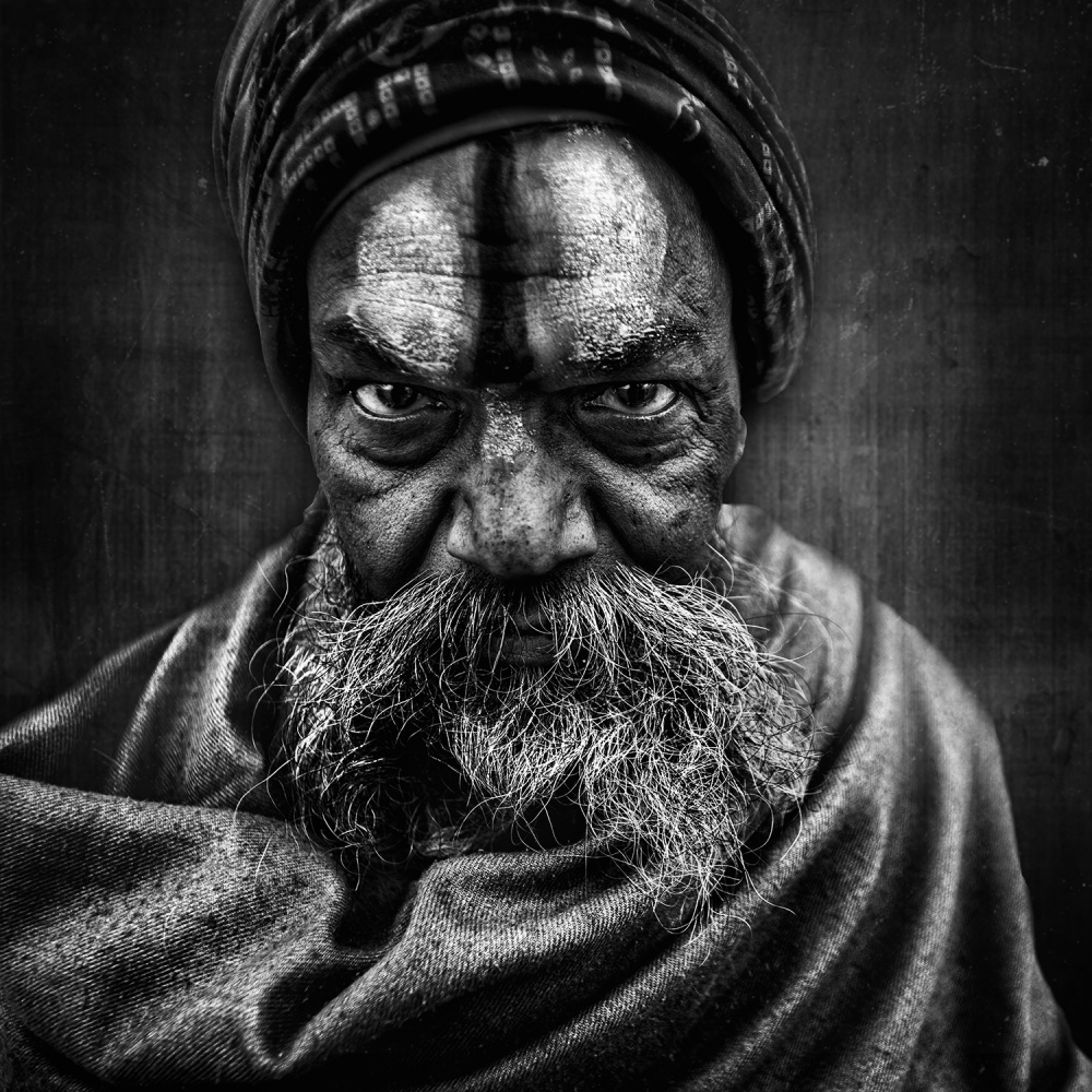 A piece of fine art art photography titled The Stare by Rakesh J.V