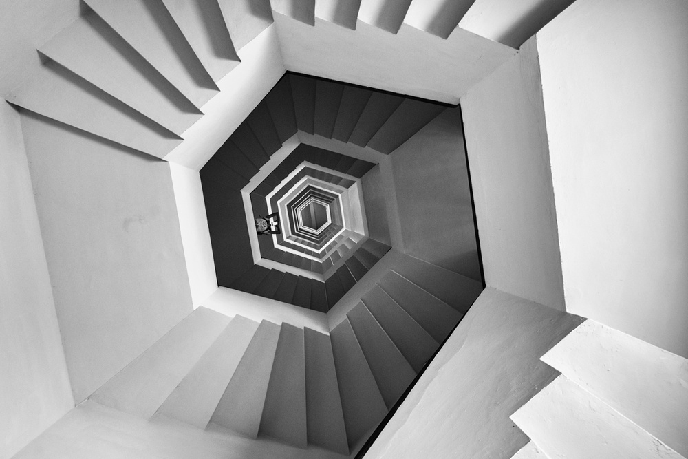 View this piece of fine art photography titled Illusive Geometry by Arnon Orbach