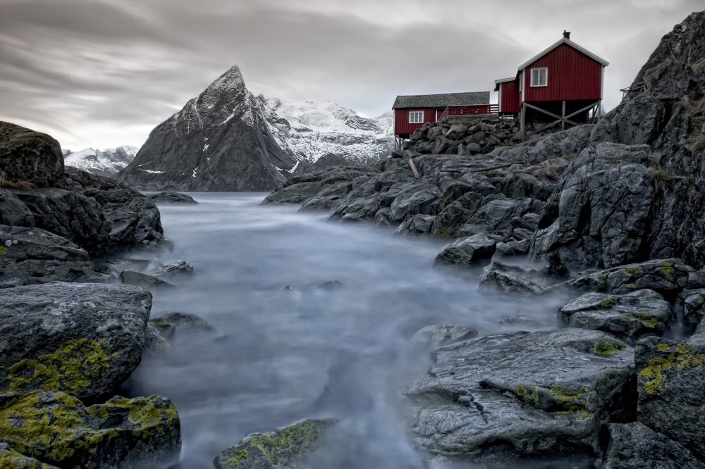 A piece of fine art art photography titled Living Norway by Liloni Luca