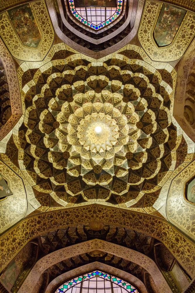 A piece of fine art art photography titled Iran from Below - IV by Marsel van Oosten