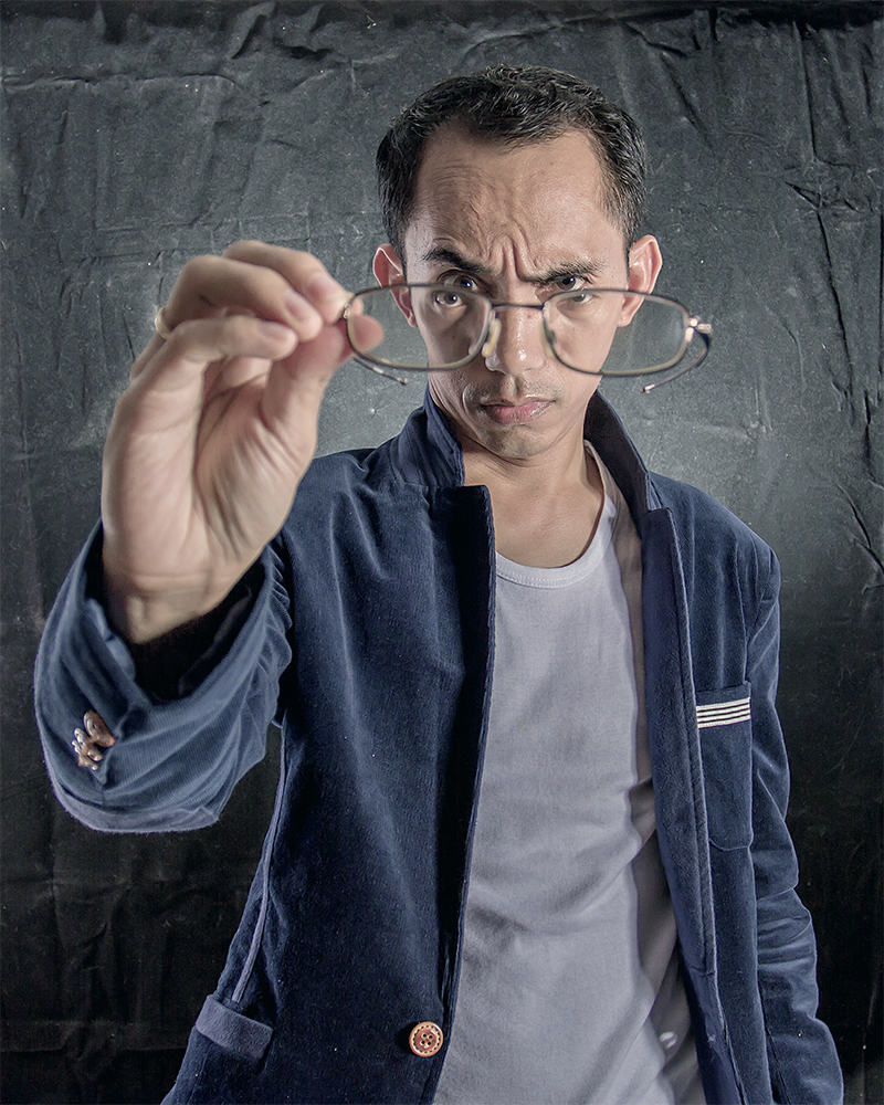 A piece of fine art art photography titled Need New Glasses by Ganjar Rahayu