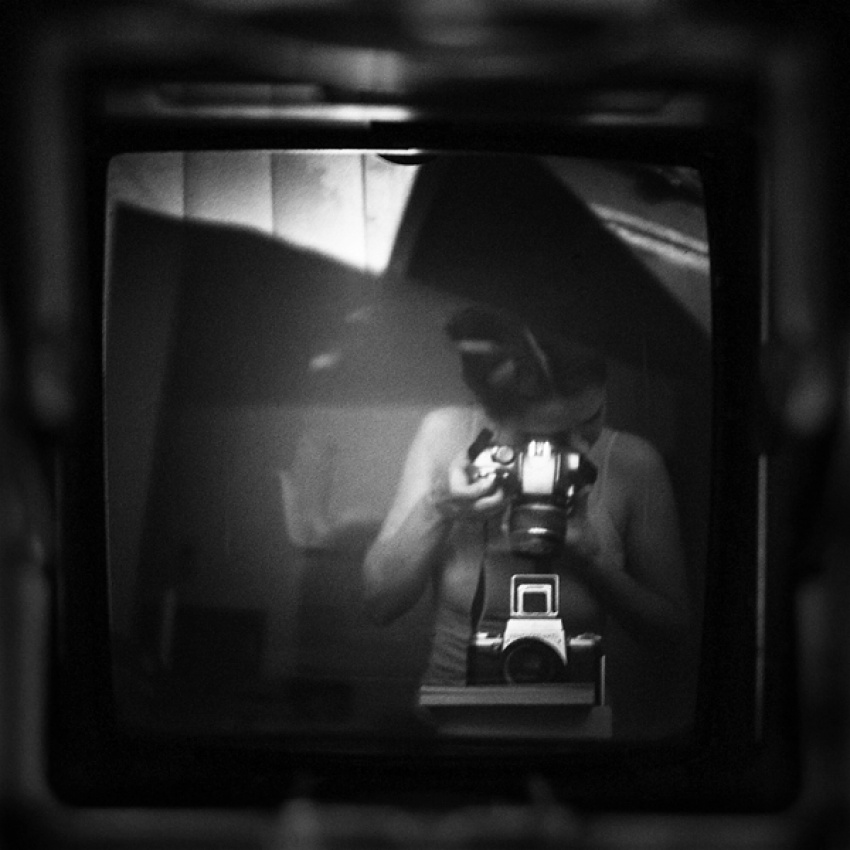A piece of fine art art photography titled Self by Diana Bodea