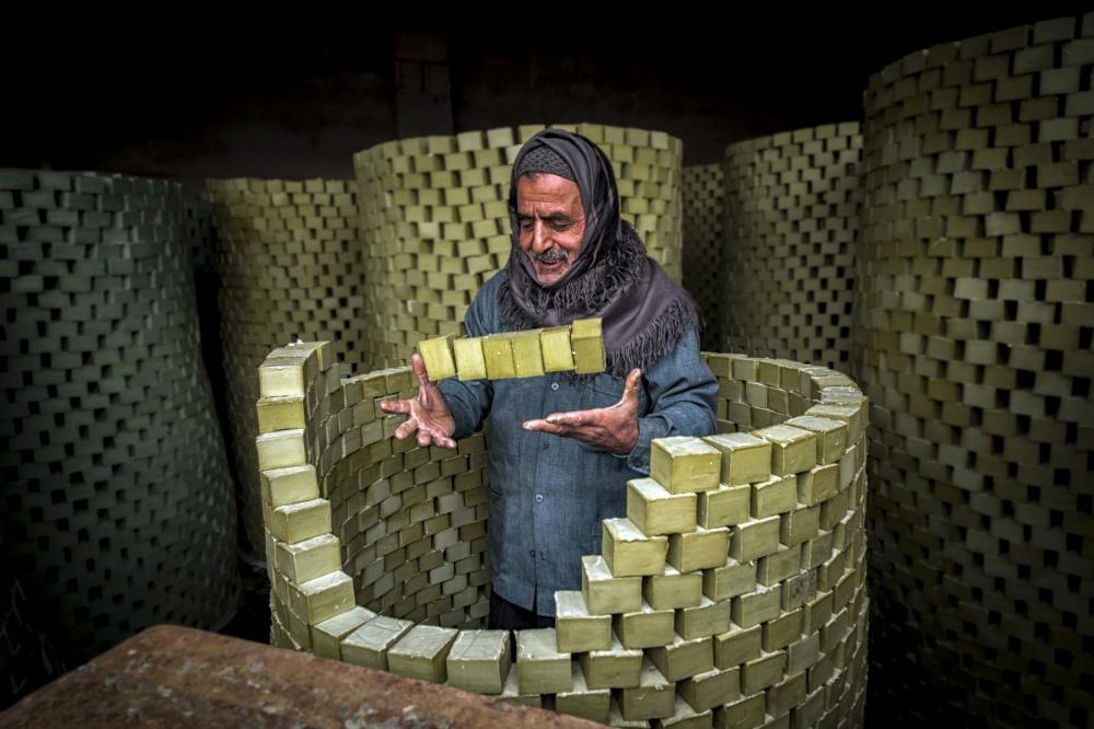 A piece of fine art art photography titled Wizard of Soap by Kaan Kocakoglu