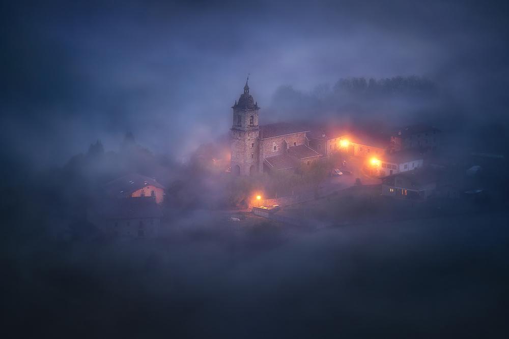 A piece of fine art art photography titled Forgotten Realms by Mikel Martinez de Osaba