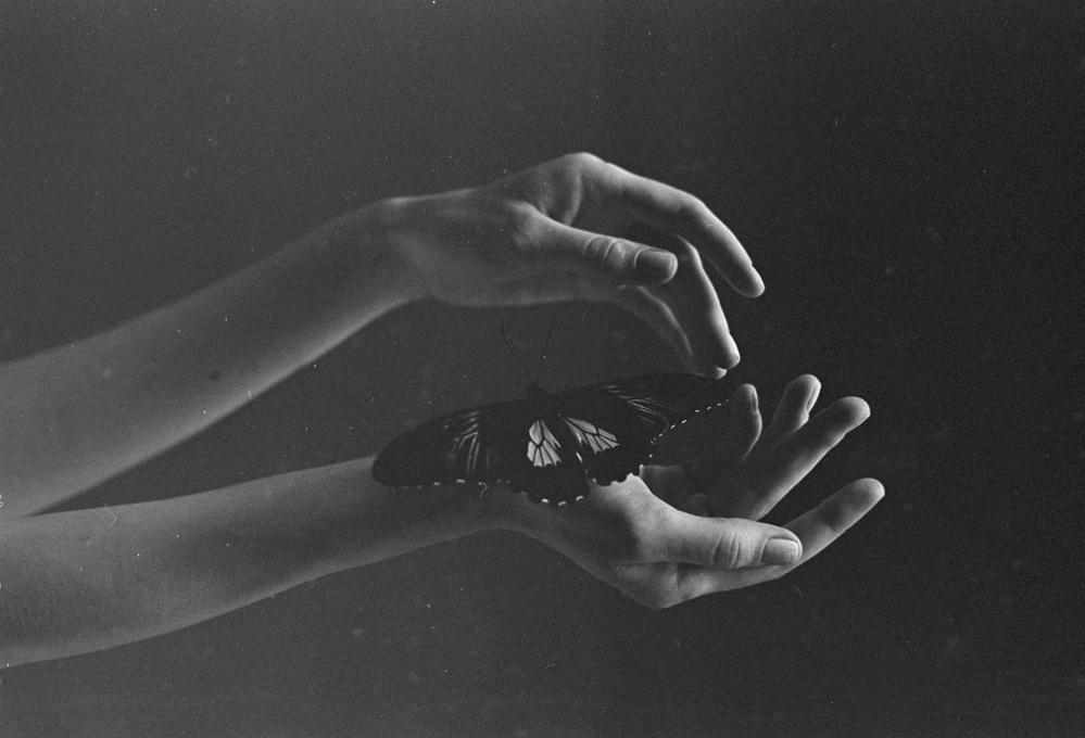 A piece of fine art art photography titled Touch by Krasnickaya Katherine