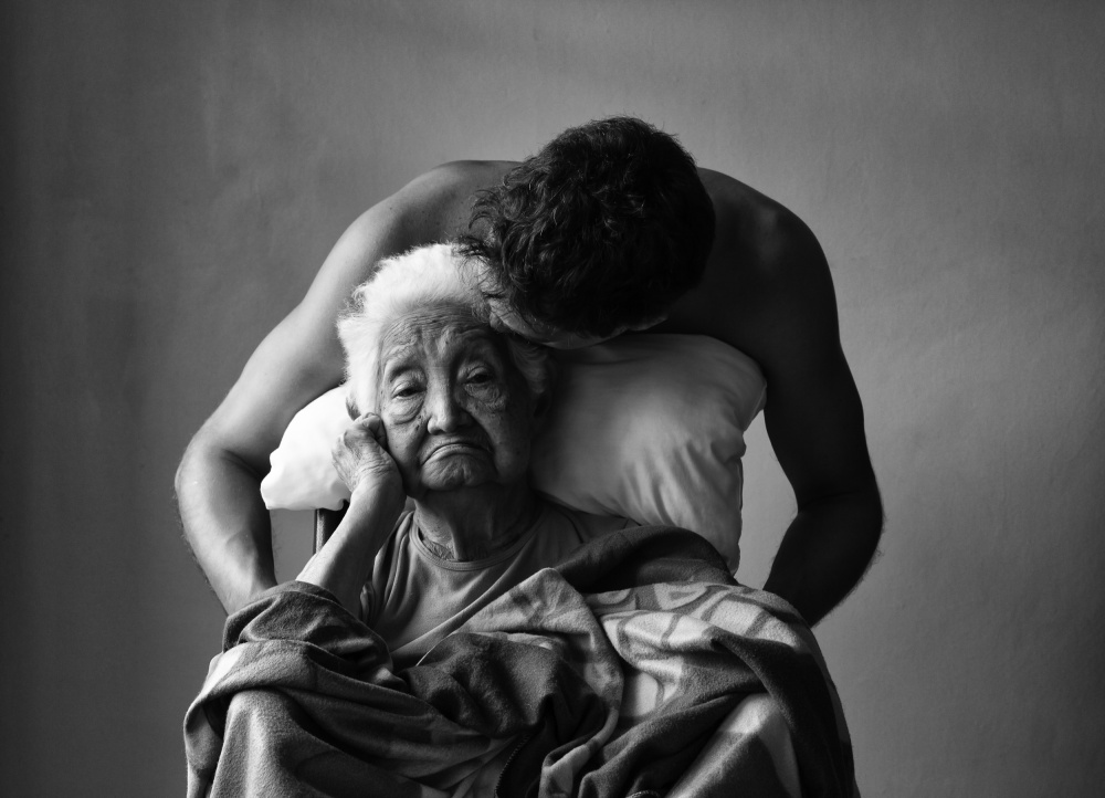 A piece of fine art art photography titled Grandma by Francisco Marchena