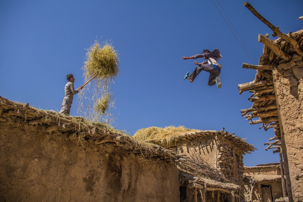 A piece of fine art art photography titled Higher and Higher by Afshin Azizi