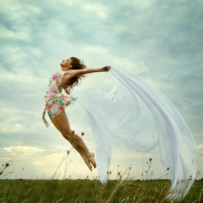 A piece of fine art art photography titled Towards to a Wind by Borodin Alexey