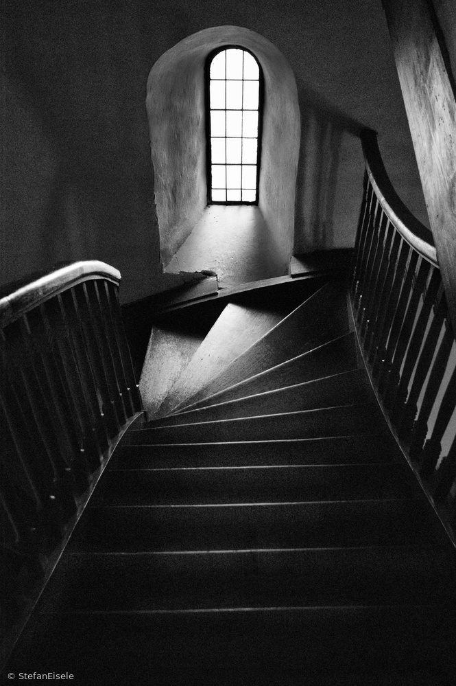 Church stairs in Bad Boll