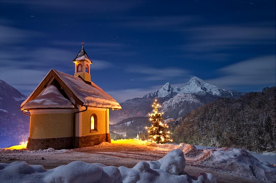 A piece of fine art art photography titled National Park Berchtesgadener Land by Christian Bothner