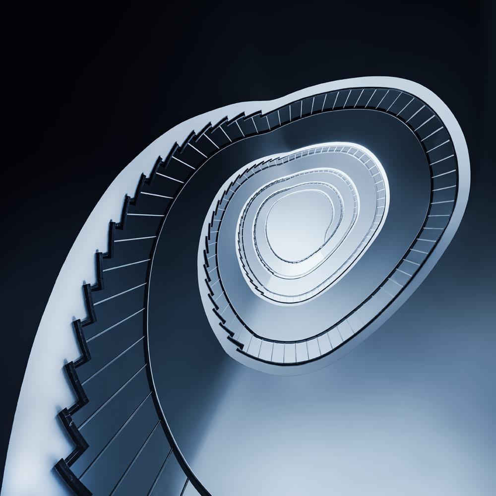 A piece of fine art art photography titled Follow the Light by Markus Studtmann
