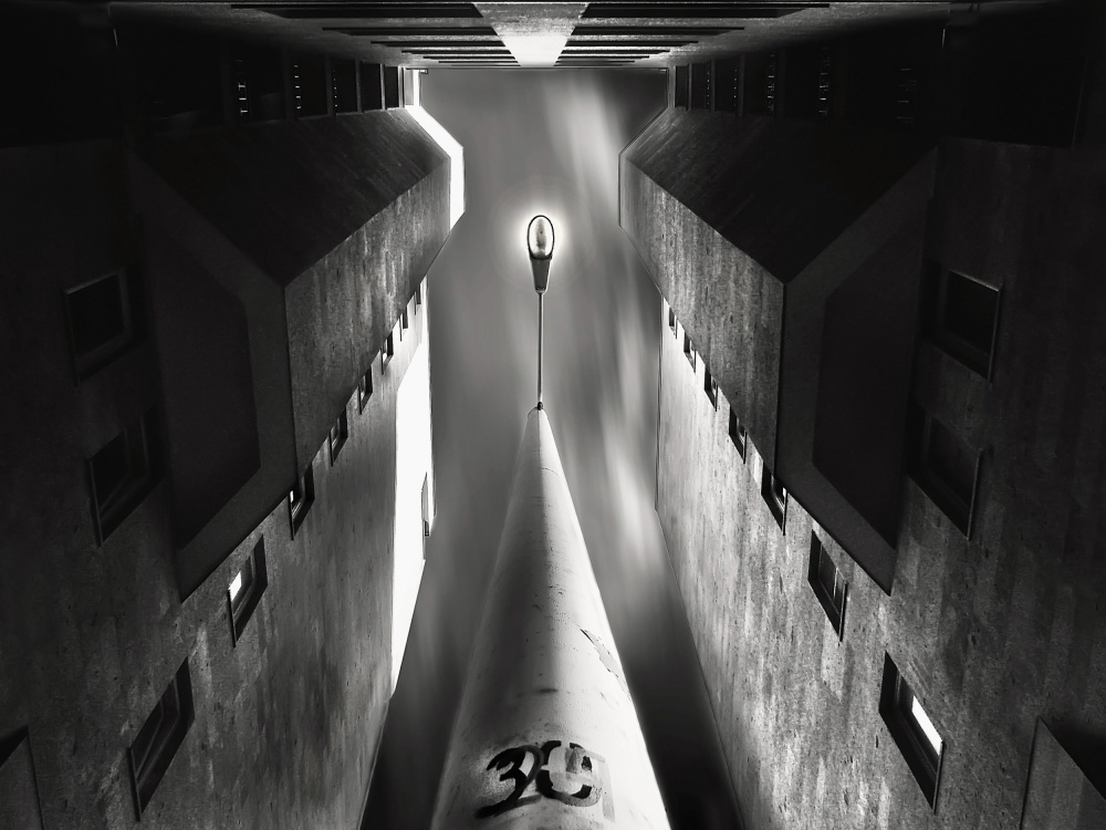 A piece of fine art art photography titled Blind Alley by Souren  Arslanian
