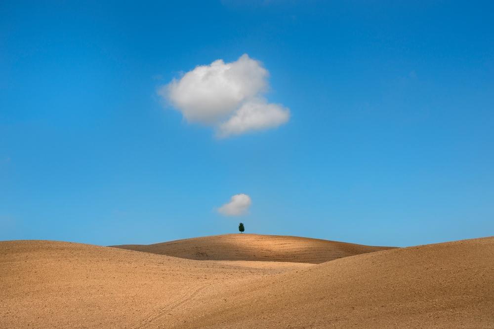 A piece of fine art art photography titled Tuscany by Jure Kravanja