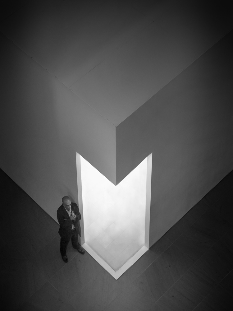 A piece of fine art art photography titled Saint Peter by Matej Peljhan