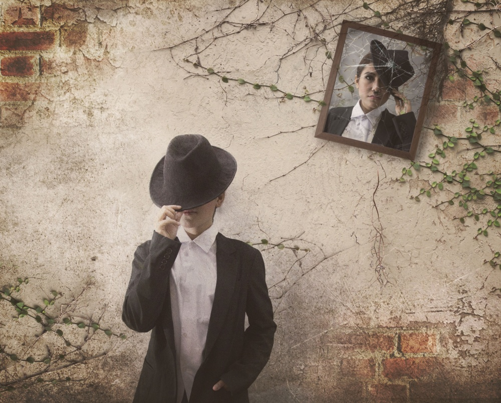 A piece of fine art art photography titled Forget the Past by Ivan Marlianto