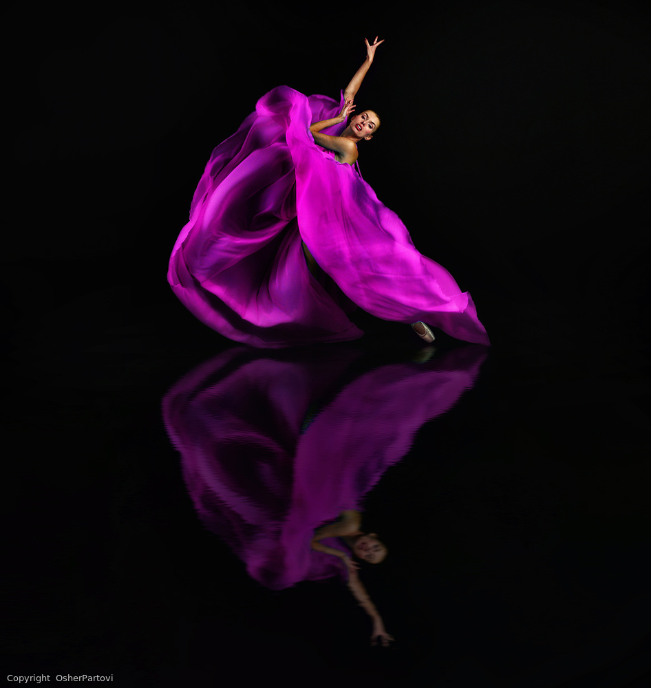 """View this piece of fine art photography titled """"Dancing flower"""" by Lus Joosten"""