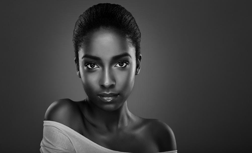 A piece of fine art art photography titled Jada by Kamal Mostofi